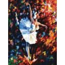 Картина по номерам на картоне Белоснежка Танец души 3031-CS