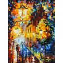 Картина по номерам на картоне Белоснежка Огни в ночи 3028-CS