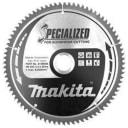 Пильный диск для алюминия, 235x30x1.8x80T Makita