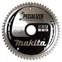 Пильный диск для алюминия, 180x30/20/15.88x1.8x60T Makita