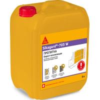 Пропитка защитная гидрофобная для фасадов зданий Sika Sikagard-703W 5 л