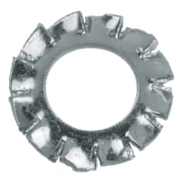 Шайба зубчатая DIN 6798 5 мм, 15 шт.