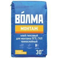 Клей гипсовый Волма Монтаж, 30 кг