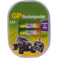 Аккумулятор GP AAA Ni-Mh, 950 мА/ч, 2 шт.
