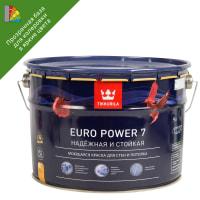 Краска для колеровки водно-дисперсионная Tikkurila Euro Power-7 прозрачная С 9л