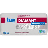 Штукатурка цементная декоративная Knauf Диамант короед 2.5 25 кг
