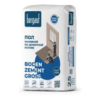 Наливной пол Bergauf Boden Zement Gross 25 кг