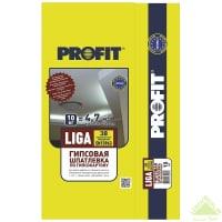 Шпаклёвка гипсовая базовая Profit Liga 10 кг