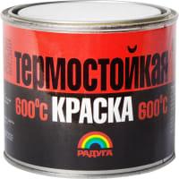 Эмаль акриловая термостойкая Р-818 цвет красно-коричневый 0.4 кг