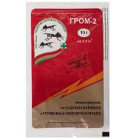 Средство для защиты садовых растений от муравьев «Гром-2» 10 г