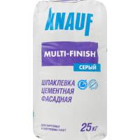 Шпаклёвка цементная финишная Knauf Мульти-финиш 25 кг
