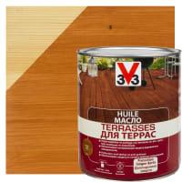 Масло для террас V33 цвет тик 2.5 л