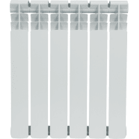Радиатор Monlan 500/80, 6 секций, биметалл
