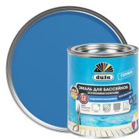 Эмаль для бассейнов Dufa цвет голубой 0.75 л