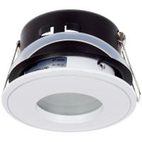 Светильник встраиваемый Aqua, GU5.3, 50 Вт, цвет белый, IP65
