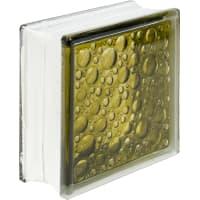 Стеклоблок Богема Савона цвет ярко-бронзовый