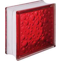 Стеклоблок Богема Савона цвет ярко-рубиновый