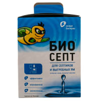Биоактиватор для септиков Биосепт, 24 дозы, 600 г