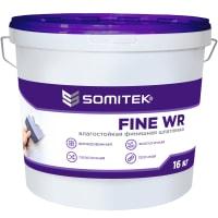 Шпаклёвка полимерная суперфинишная Somitek Fine WR 16 кг
