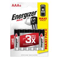 Батарейка алкалиновая Energizer Max AAA/LR03 FSB 6 шт.