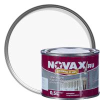 Эмаль для радиаторов Novax цвет белый 0.5 л