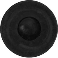 Набойки Standers PTFE 22 мм, круглые, пластик, цвет серый, 4 шт.