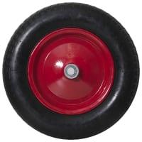 Колесо для тачки пневматическое WB6418-8S, размер 3.25/3.00-8, диаметр втулки 20 мм. D355 мм.