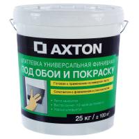 Шпаклёвка полимерная суперфинишная Axton 25 кг