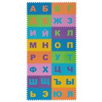 Пол мягкий «Алфавит Русский» полипропилен 20х20 см, в упаковке 32 шт.