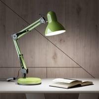 Настольная лампа Inspire Ennis 1xE14х40 Вт, металл, цвет фисташковый