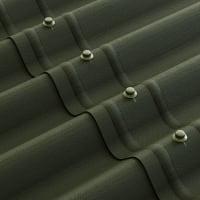 Лист Ондулин 3x760х1950 мм цвет зелёный