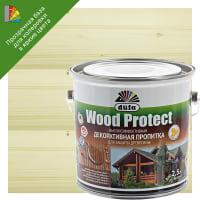 Антисептик Wood Protect прозрачный 2.5 л
