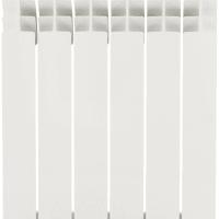 Радиатор Monlan 500/96, 6 секций, алюминий