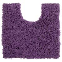 Коврик для туалета Sensea Twist, 55х55 см, микрофибра, цвет бордо