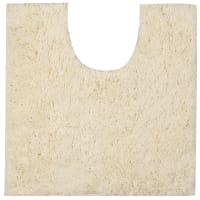 Коврик для туалета Sensea Twist, 55х55 см, микрофибра, цвет белый