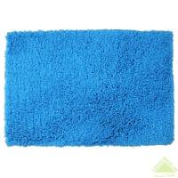 Коврик для ванной комнаты «Twist» 60х90 см цвет синий
