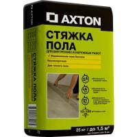 Стяжка пола Axton 25 кг