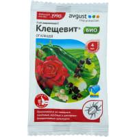 Средство для садовых растений для защить от клещей «Клещевит» 4 мл