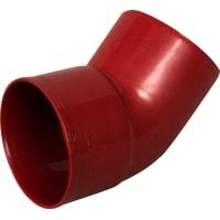 Отвод на 45° Murol цвет красный