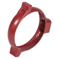 Хомут для водосточной трубы 80 мм Murol цвет красный