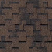 Черепица гибкая Mida Аккорд коричневый 3 м²