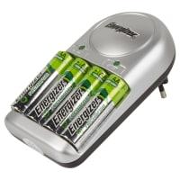 Зарядное устройство Energizer Base Charger, 4 аккумулятора AA 1300 мAч