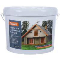 Краска для деревянных фасадов Оптимист база А 9 л