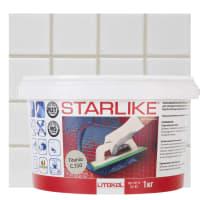 Затирка эпоксидная Litochrom Starlike C310, 1 кг, цвет титановый
