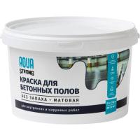 Краска для пола Aquastrong 2 кг  цвет коричневый