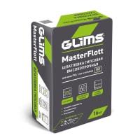 Шпаклёвка гипсовая для заделки швов ГКЛ Glims MasterFlott 16 кг