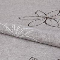 Ткань «Цветы» 1 п/м 280 см лён цвет серо-бежевый