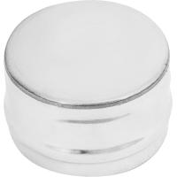 Заглушка глухая 120х0.5 мм нержавеющая сталь