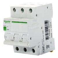 Выключатель автоматический Schneider Electric Resi9 3 полюса 16 A
