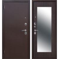 Дверь входная металлическая Царское зеркало Maxi, 960 мм, левая, цвет венге